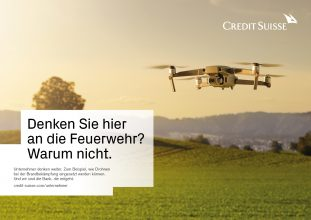 Bild Nummer 1 in Credit Suisse Lars Ranek advertising